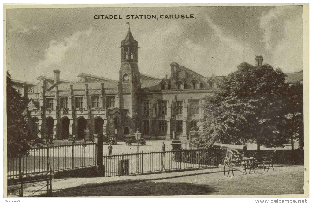 CUMBRIA - CARLISLE - CITADEL STATION Cu835 - Cumberland/ Westmorland