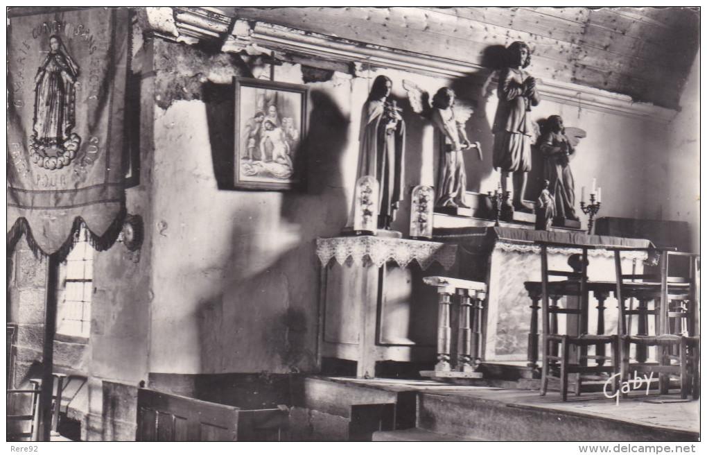 """Côtes D´armor 22  Vieux Marché  """" Chapelle Des 7 Saints Statue De St Isidore Patrons Des Travailleurs """" - Other Municipalities"""