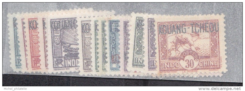 Kouang-Tchéou N° 52 à 72** Sans Les 63-64-65-67-68-70-71 - Kouang-Tcheou (1906-1945)