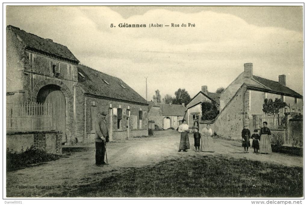 Gélannes (Aube) – Rue Du Pré - France