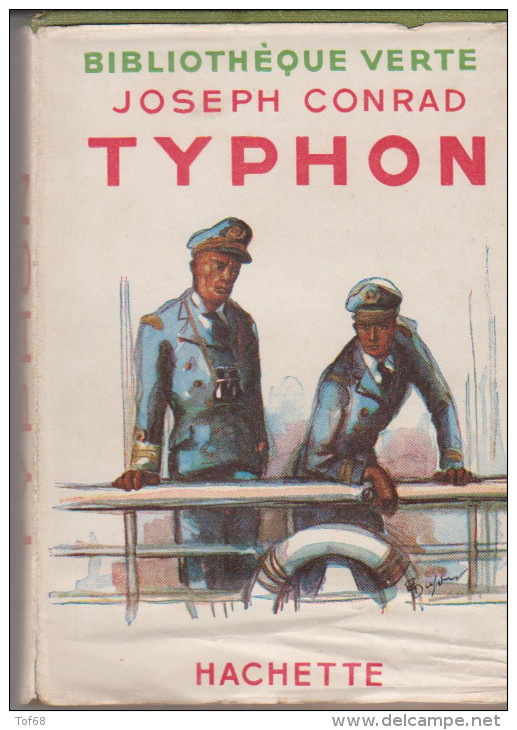 Bibliothèque Verte Typhon De Joseph Conrad - Books, Magazines, Comics