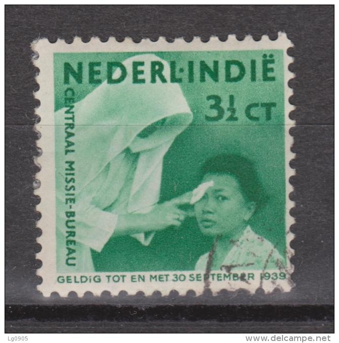 Nederlands Indie Netherlands Indies Dutch Indies 242 Used ; Missie, Mission 1938 - Niederländisch-Indien