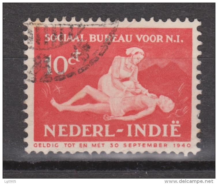 Nederlands Indie Netherlands Indies Dutch Indies 270 Used ; Sociaal Bureau 1939 - Niederländisch-Indien