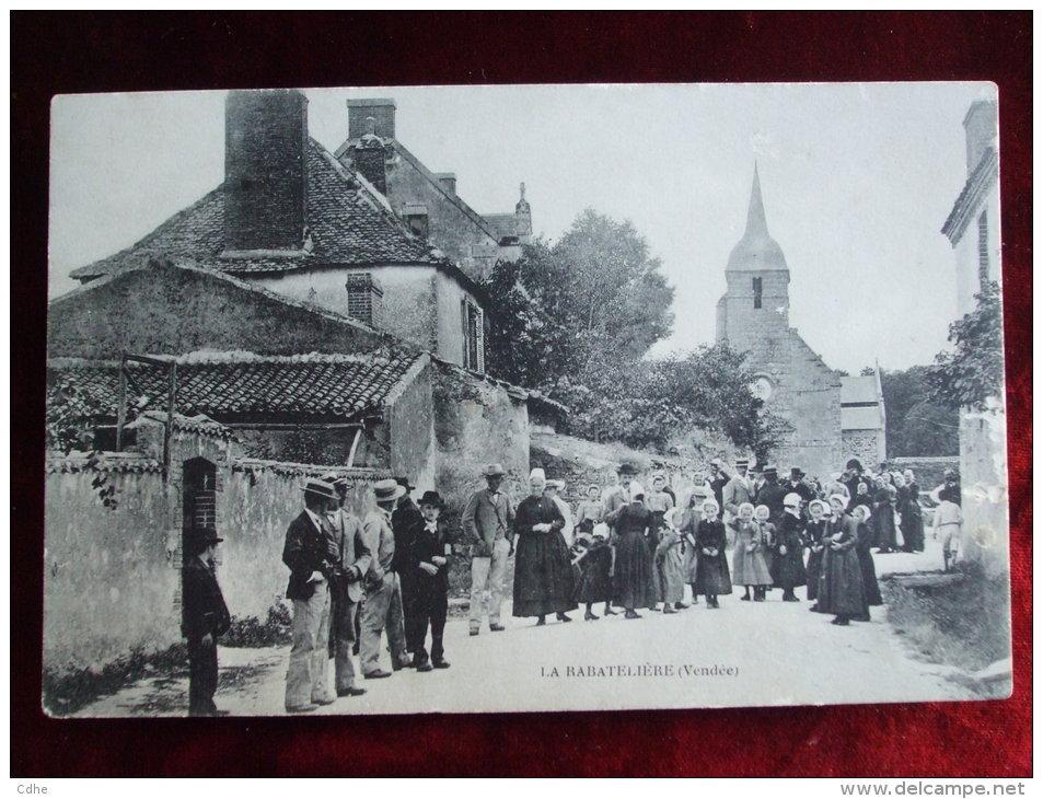 STPAT - 85 -  LA RABATELIERE - France