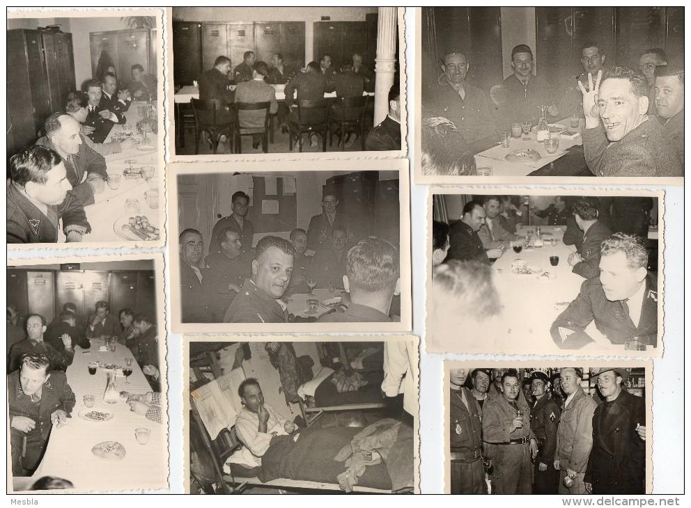 PHOTOS  VERITABLES  - PELOTON / ECOLE De GENDARMERIE - TOULOUSE - Gendarme Henri Gendron - 1945 - Photos