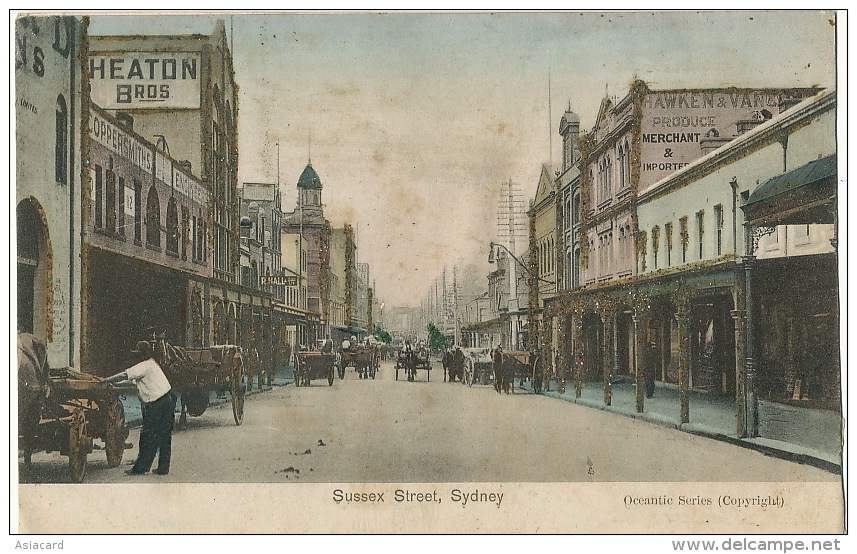 Sydney Sussex Street Oceantic Series Brilliant - Sydney