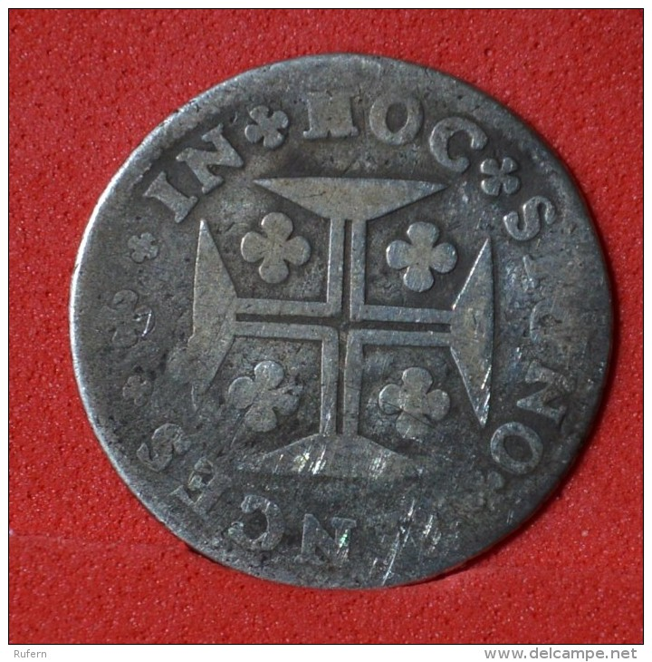 PORTUGAL  120  REIS    D. JOÃO V - SILVER COIN KM# 316  -    (Nº05936) - Portugal