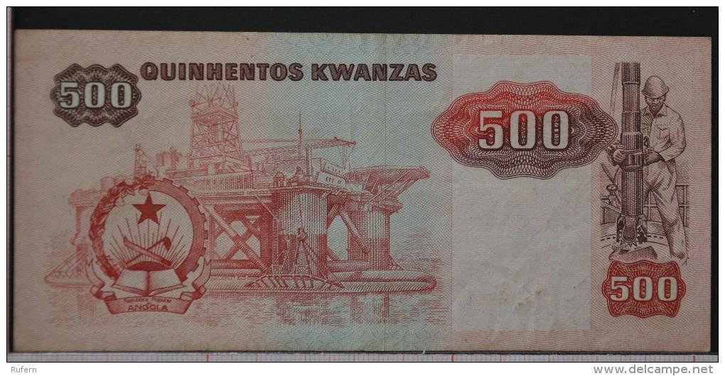 ANGOLA  500  KWANZAS  1987     -    (Nº05995) - Angola