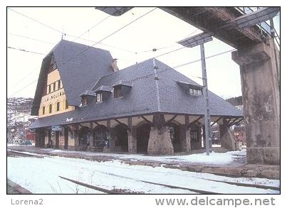 7f-804. Postal Estación De La Molina - Estaciones Sin Trenes
