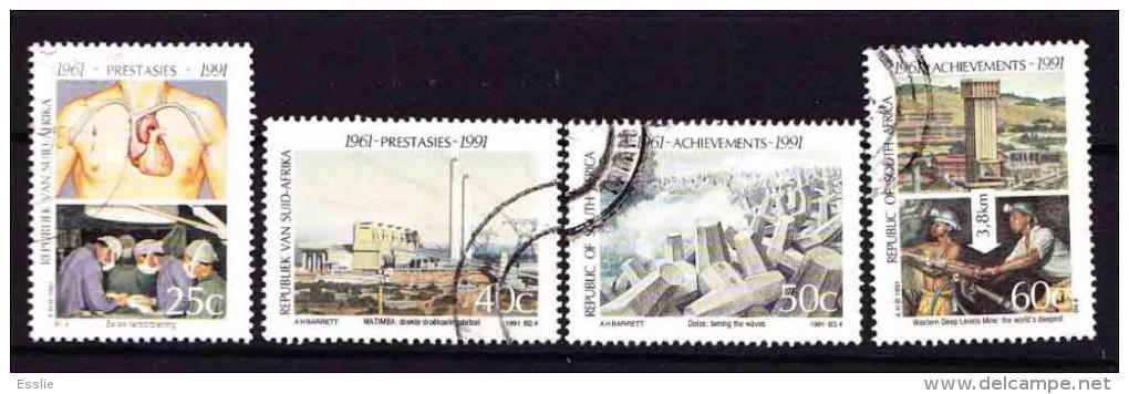 South Africa - 1991 - Achievements - 30th Anniv. Of Republic Of South Africa - South Africa (1961-...)