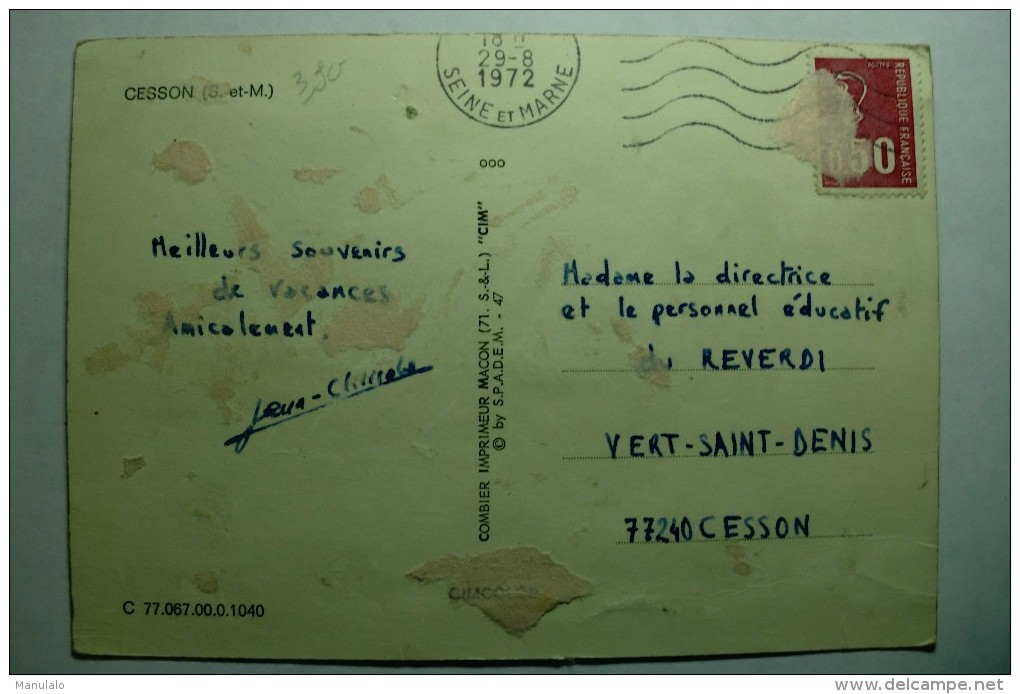D 77 - Cesson - Cesson