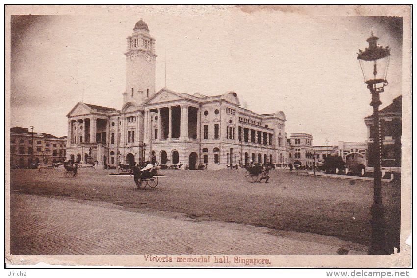 PC Singapore - Victoria Memorial Hall - 1900s (2514) - Singapur