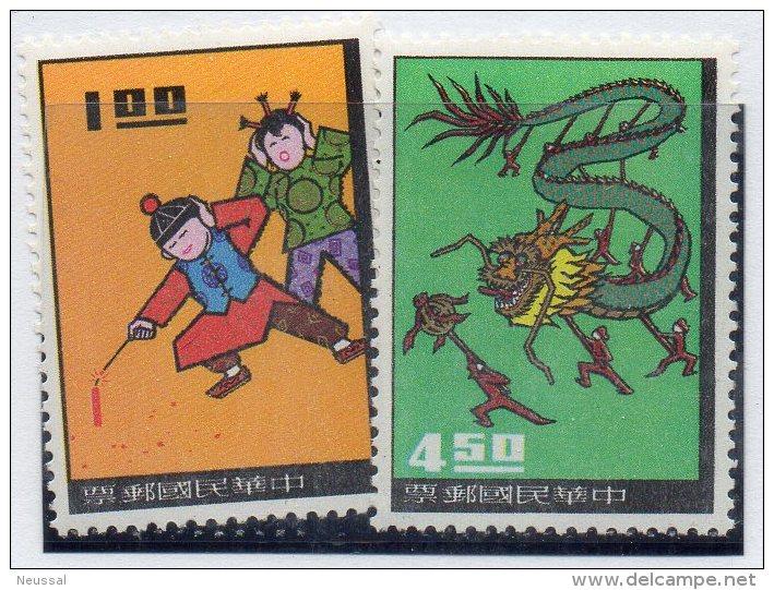 Serie Nº 531/2  Formosa - 1945-... Republic Of China