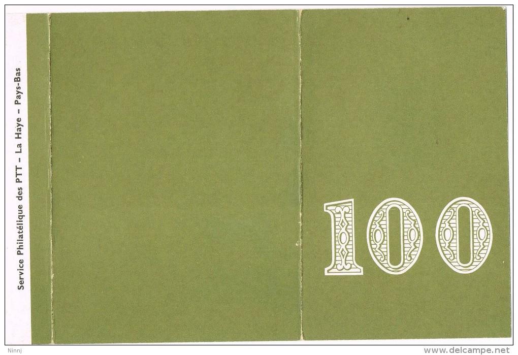 Pays - Bas - La Haye - 100º Service Philatelique Des PTT - Period 1949-1980 (Juliana)
