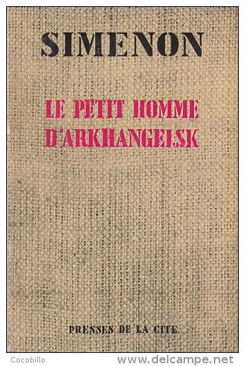 Le Petit Homme D'Arkhangelsk - De Georges Simenon -  Poche Presses De La Cité - 1956 - Simenon