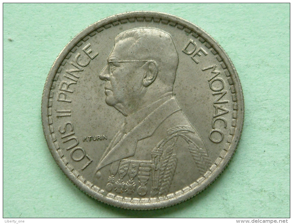 1946 - 10 Francs - KM 123 ( Uncleaned - For Grade, Please See Photo ) ! - Monaco