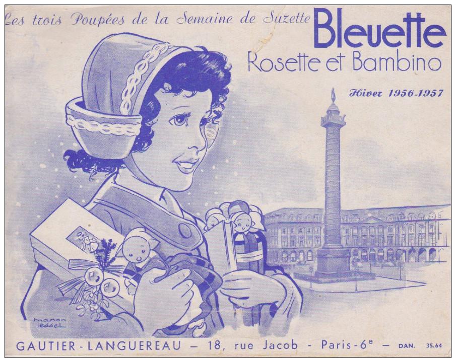 Catalogue Poupée Bleuette 1956 - Livres, BD, Revues