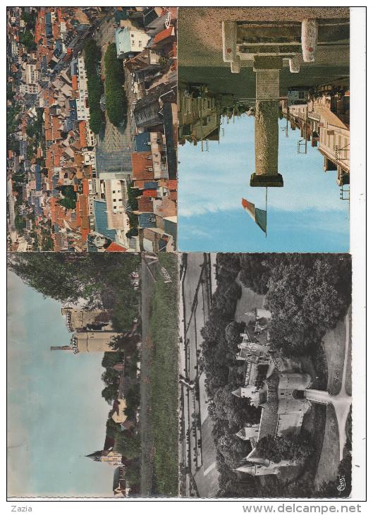 LD18 / Lot D'environ 360 Cpa,cpsm Et Cpm Du CHER  (voir Descriptif) - Cartes Postales