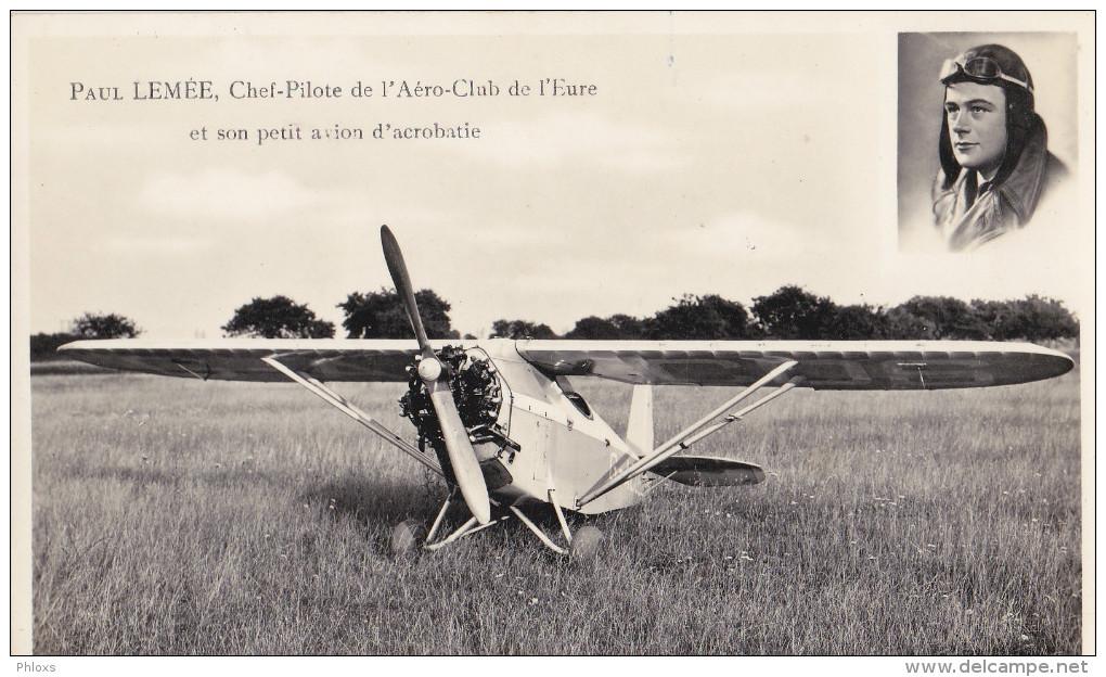 EVREUX/27/AVIATION/Paul Lemée,chef-pilote De L'aéro-club De L'Eure...../ Réf:C1945 - Evreux