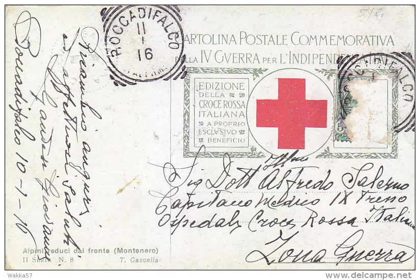 D-1272 Illustratore T. Cascella  Serie Croce Rossa Red Cross Croix Rouge - Viaggiata - Altre Illustrazioni