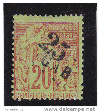 GABON - YVERT N° 3 * - COTE = 110 EUR. - Gabon (1886-1936)