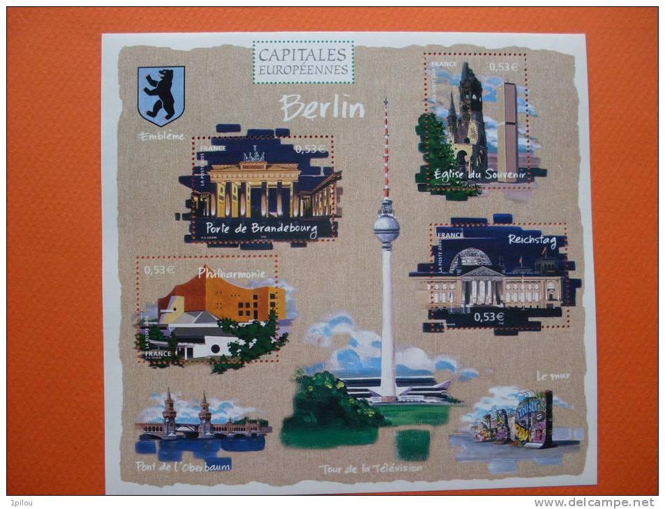 BF88 CAPITALES EUROPEENNES. BERLIN - Blocchi & Foglietti