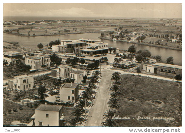 SABAUDIA LATINA 1954 - Latina