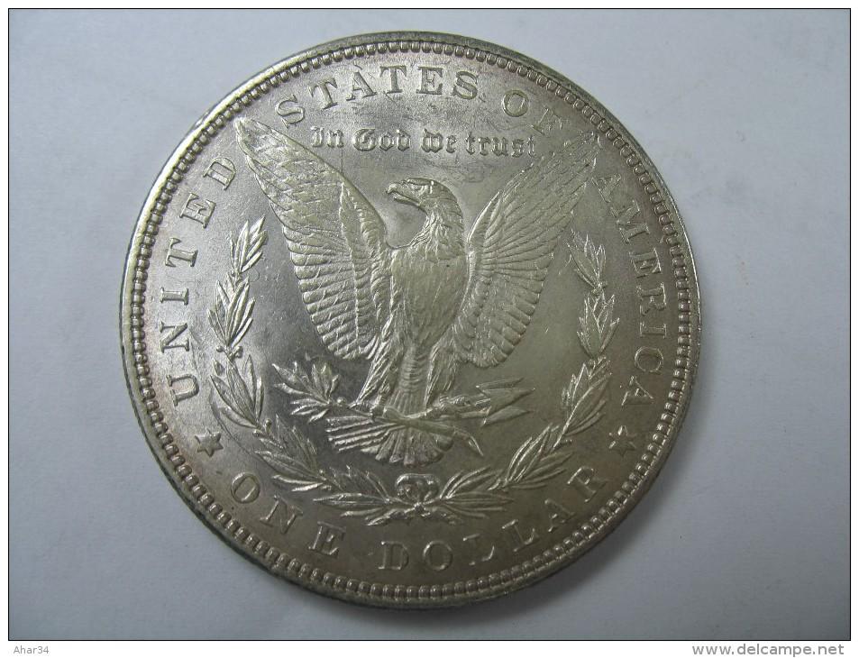 US USA 1 ONE DOLLAR MORGAN COIN SILVER 1883 - 1878-1921: Morgan
