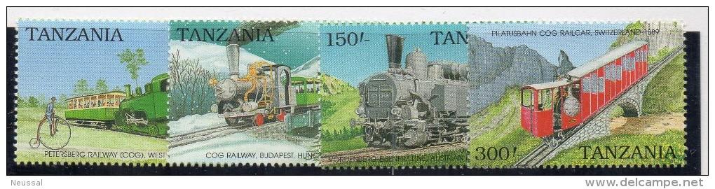 Serie Nº 618/21  Tanzania - Treni