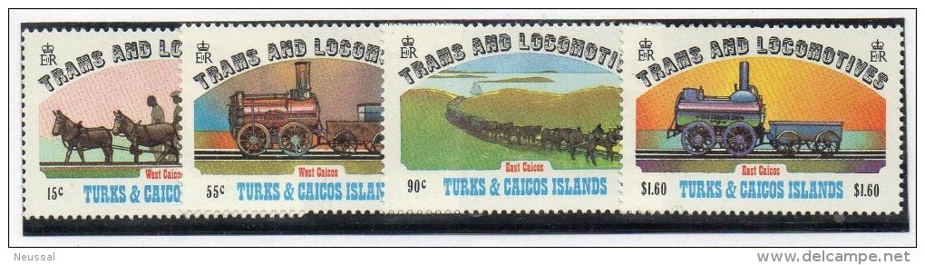 Serie Nº 610/3 Turks & Caicos - Treni