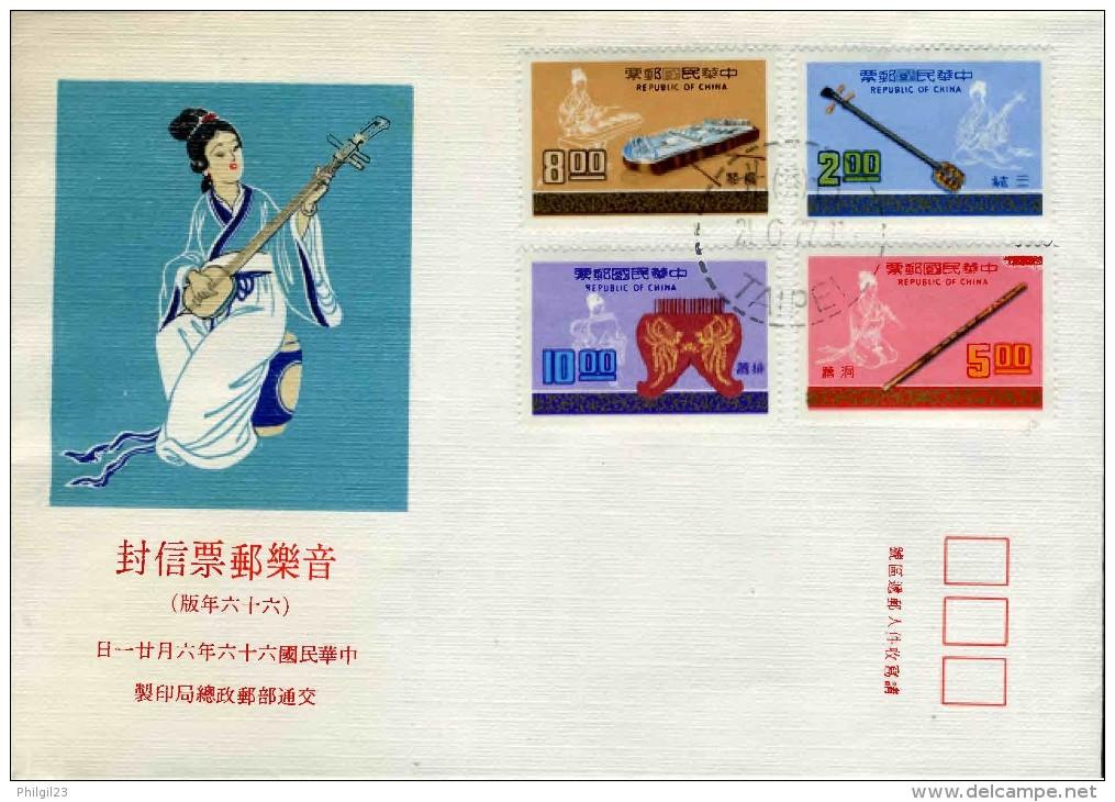FORMOSE - REPUBLIC OF CHINA - MUSIC INSTRUMENTS - Musica