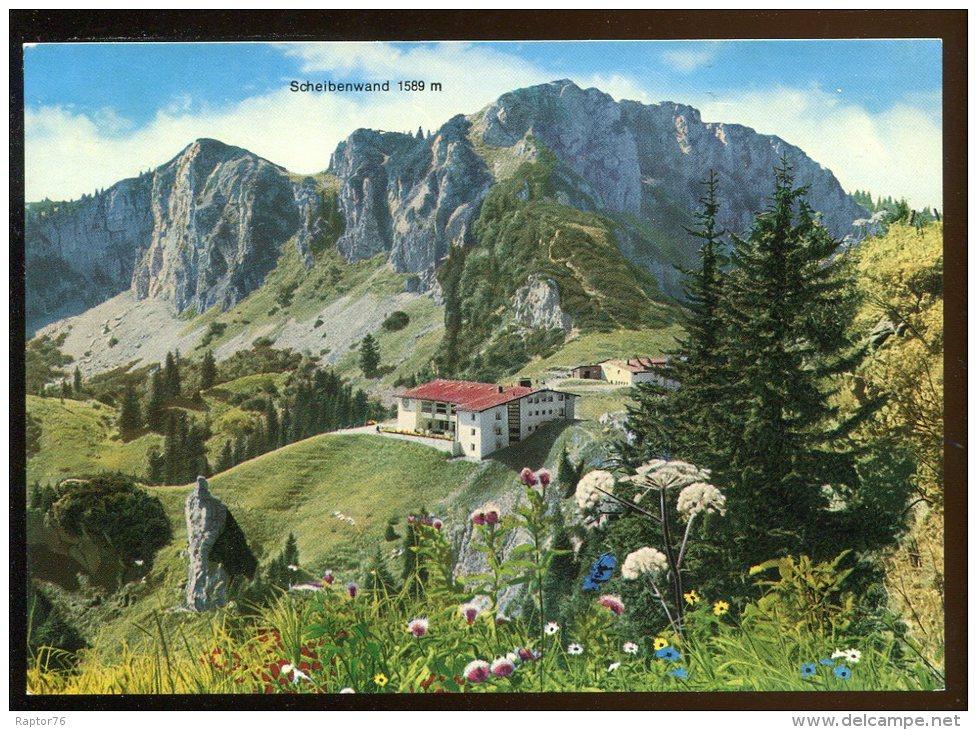 CPM Neuve Allemagne Berggasthof Kampenwand Mit Scheibenwand Bergstation Der Kampenwand-Seilbahn - Chiemgauer Alpen