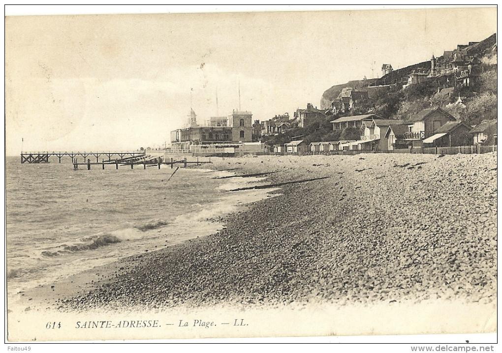 SAINTE ADRESSE - La Plage - LL 83 - Sainte Adresse