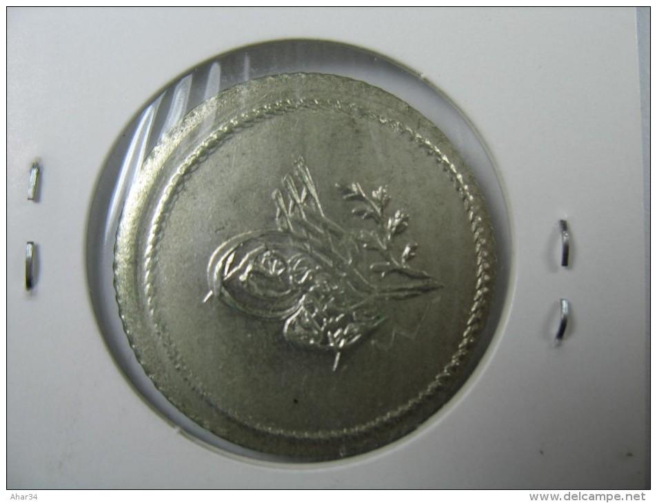 TURKEY OTTOMAN 1.5 PIASTRE 60 PARA SILVER VERY  RARE COIN  1255 YEAR 4 AH GRADE CHOICE UNC BU - Turquie