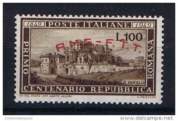 Italy AMG FTT, 1949 Sa 41 , Mi 65  MNH/**, Signed/ Signé/signiert/ Approvato - Ungebraucht