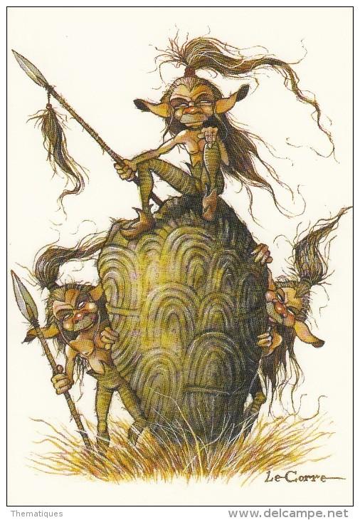 Thematiques BD Elfes Fées Légendes Trolls Lutins Sorcieres Magies Illustration Nikolaz Les Korrigans - Fairy Tales, Popular Stories & Legends