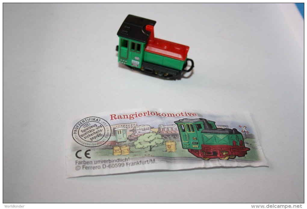 Kinder Locomotive N°1c 630268 1998 - Montables
