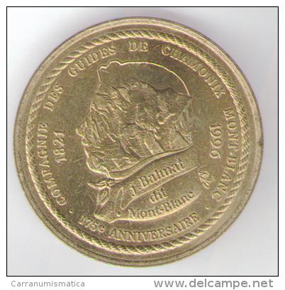 FRANCIA EURO DE CHAMONIX MONT BLANC 1.5 EURO 1996 - Euro Delle Città
