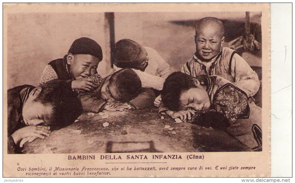 CINA  , Bambini  , Missioni  Di Sant  Antonio - Cina