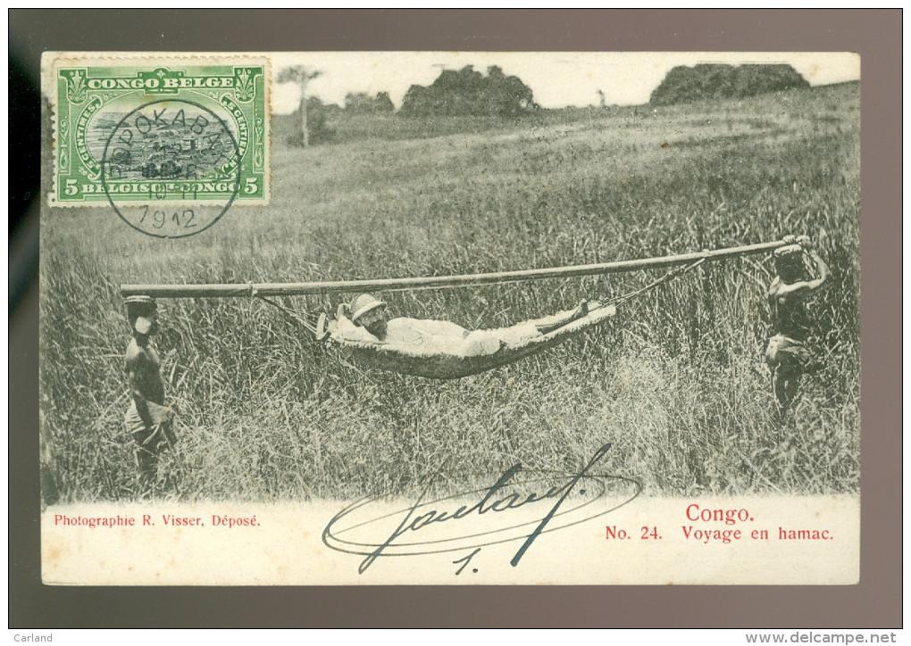 Congo  Kongo  Voyage En Hamac - Belgisch-Congo - Varia