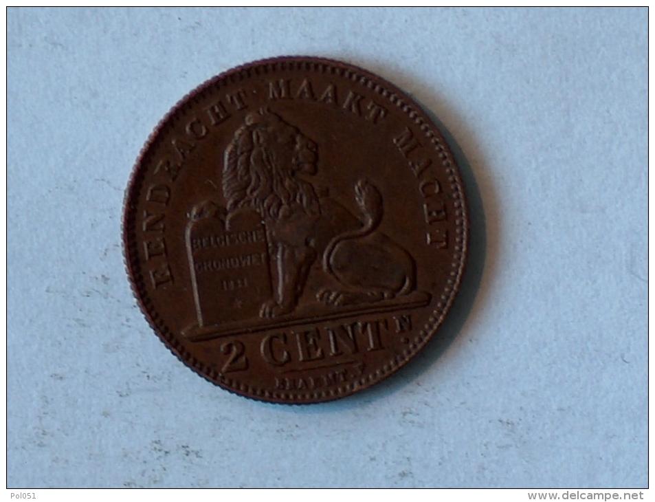 Belgique 2 Cents 1911 Centimes - 1909-1934: Albert I