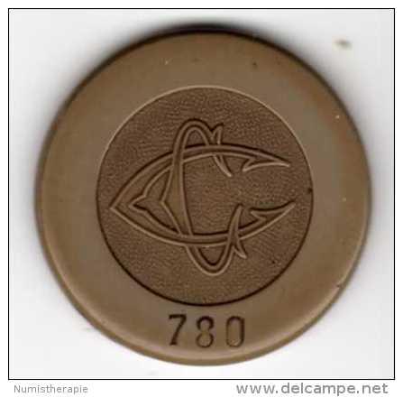 Casino Charbonnières-les-Bains : 200 Anciens Francs Avec Virgule Ajouté Pour 2 Nouveaux Francs 1960 - Casino