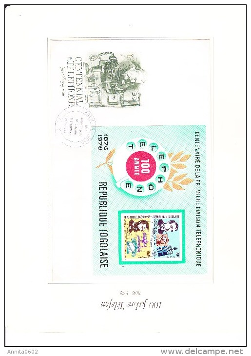 ALBUM WORLD Collection FDC + Stamps History Of Telephone Phone Telefon Bell More Than 80 Fotos!! - Timbres