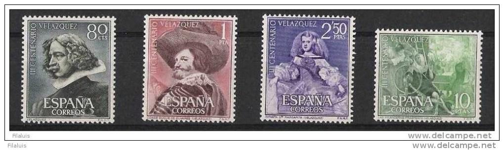 00023 España Edifil 1340-1343 ** Cat: 21,-Eur - 1931-Hoy: 2ª República - ... Juan Carlos I