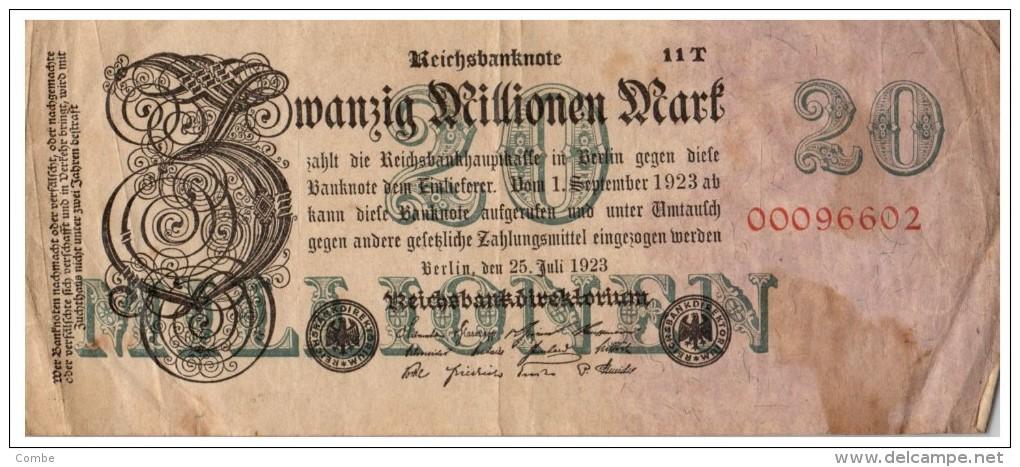 Billet Allemagne, à Identifier  /3105 - Allemagne