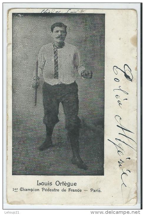 Louis Ortègue - Champion Pédestre De France - Sportsmen