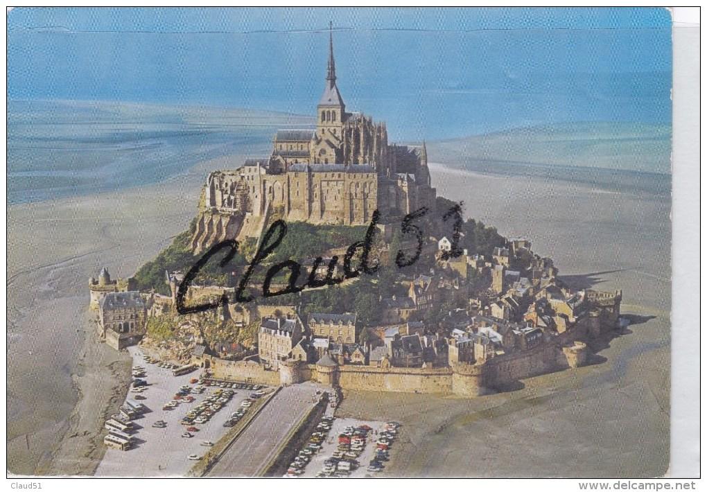LE MONT SAINT MICHEL (50) Vue Aérienne - Le Mont Saint Michel