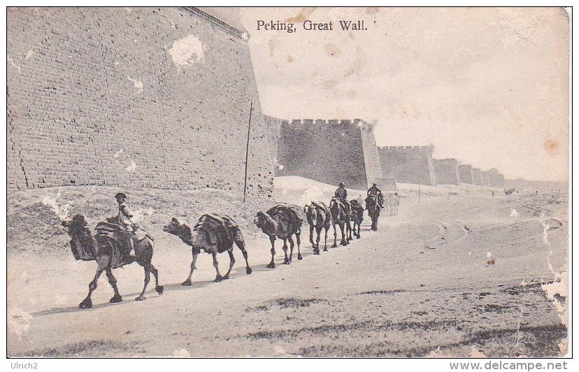 PC Peking - Great Wall - 1908 (3442) - China
