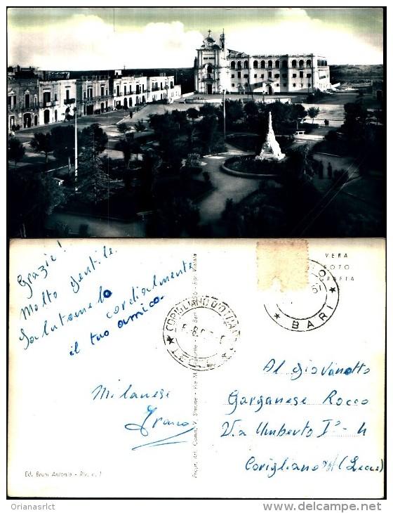 514)cartolina Viaggiata    Largo Madonna Del Pozzo - Bari
