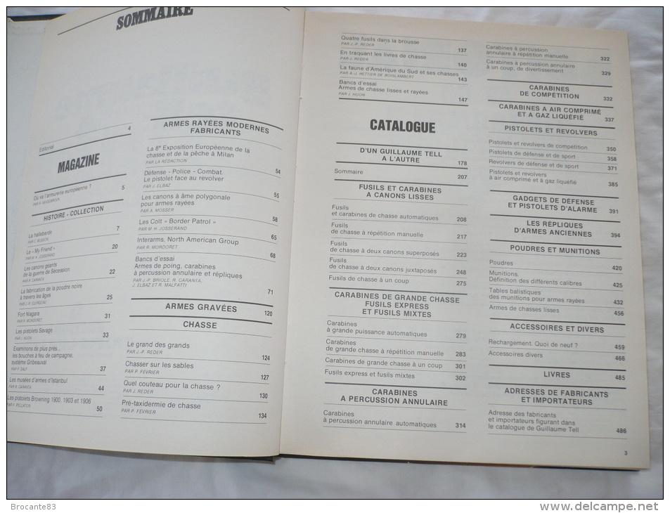GUILLAUME TELL N°4 L ANNUAIRE DES ARMES - Revues & Journaux